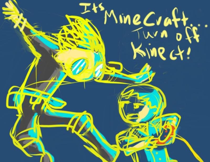 UnlimitedLife-MineCraftKinect